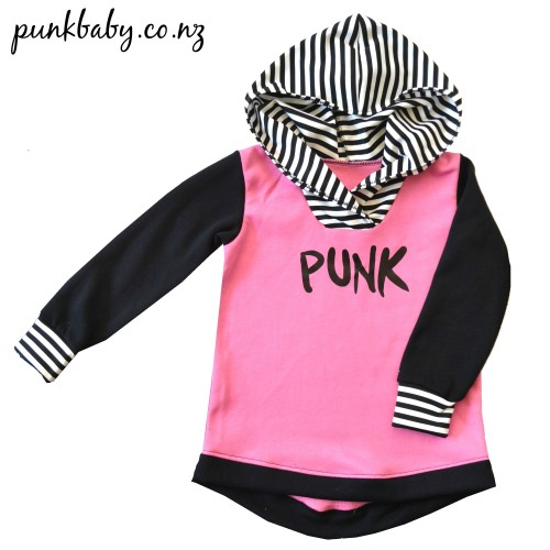 Punk Hoodie by Punk Baby, so rad!