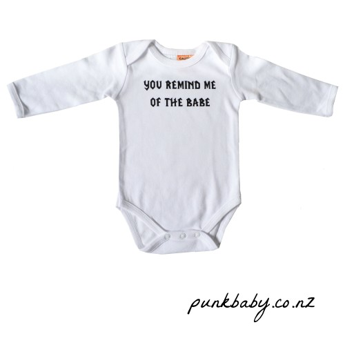 Awesome Babe Onesie by Punk Baby