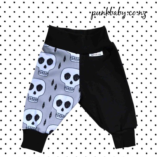 Awesome skull pants by Punk Baby Clothing