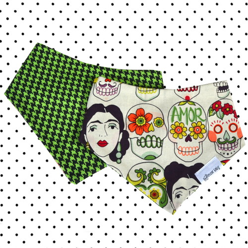 Awesome reversible skull drib by Punk Baby