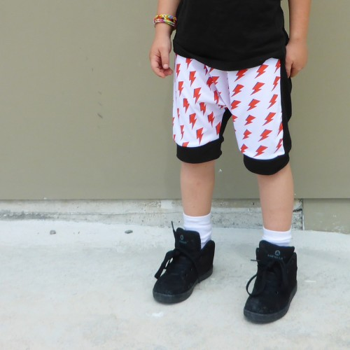 Rad Bowie shorts by Punk Baby