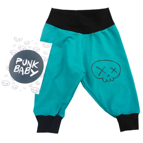 super cute skully pants by Punk Baby