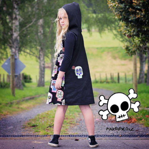Rad Hooded Dress by Punk Baby