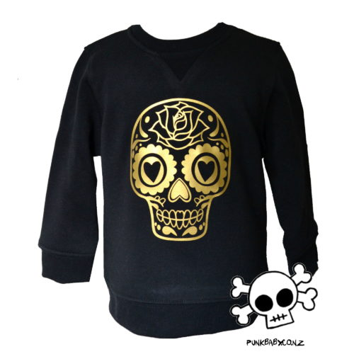 RADNESS! Sugar Skull Sweater by Punk Baby