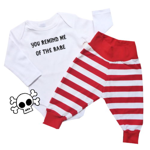 Babe Onesie and Pants set by Punk Baby