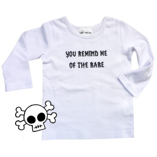 Babe tee by Punk Baby