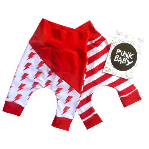 Rad Bolt Pants by Punk Baby