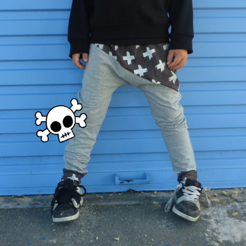 Rad Cross Pants by Punk Baby