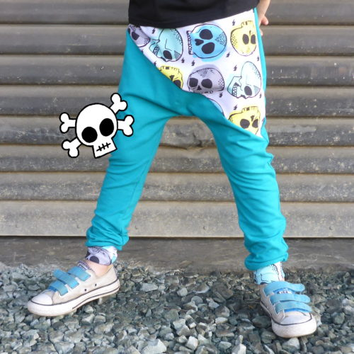 Rad Skull Pants by Punk Baby