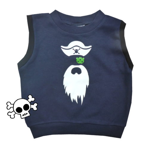 Rad Pirate Vest by Punk Baby