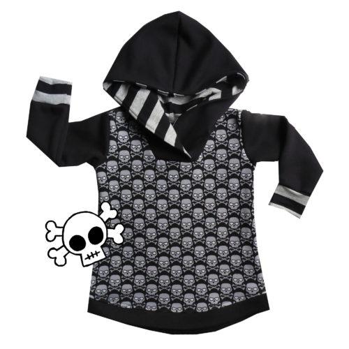 skull hoodie by Punk Baby