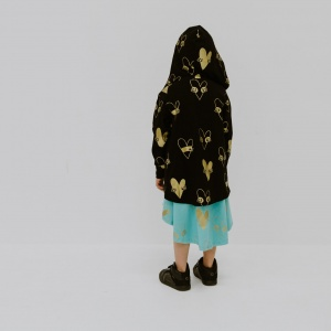 Amazing cardy by Punk Baby with metallic gold print