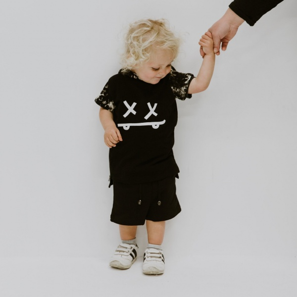 Skaterboy hooded tee by Punk Baby