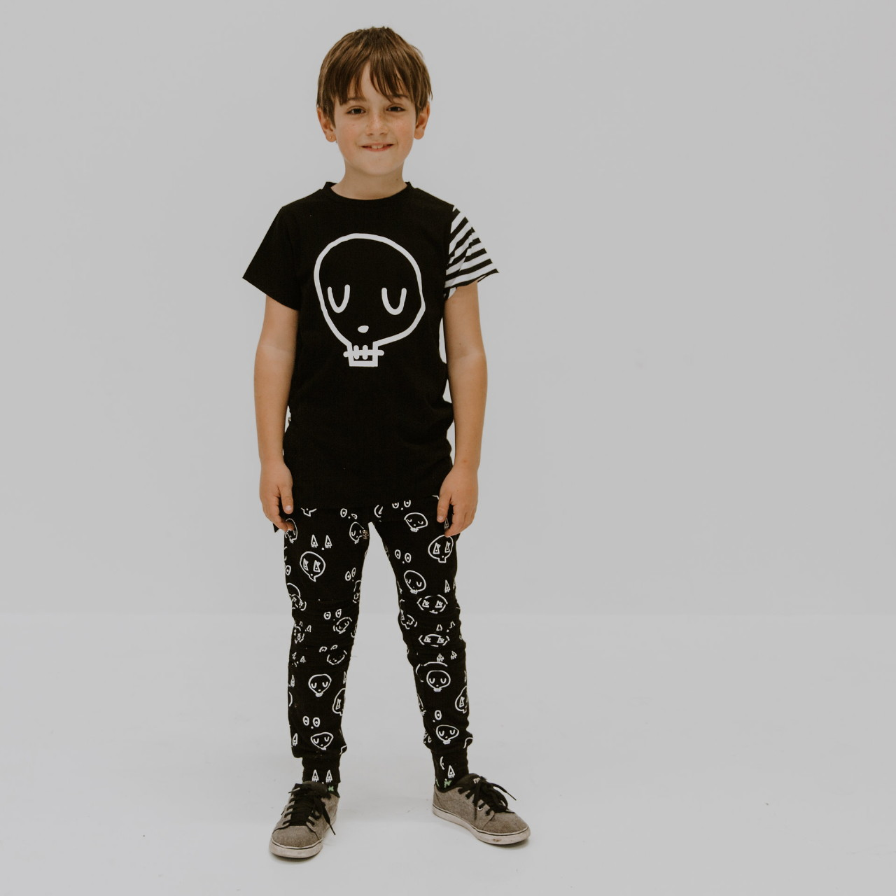 Rad Skull Tee by Punk Baby