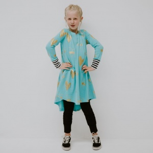 Funky heart dress by Punk Baby