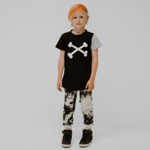 Rad crossbone tee shirt by Punk Baby