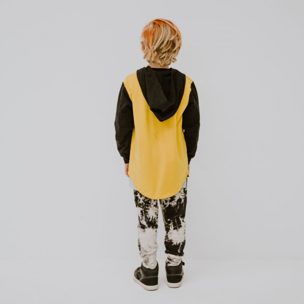 Epic mustard skull hoodie by Punk Baby