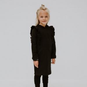Cute as ruffle hoodie dress by Punk Baby!