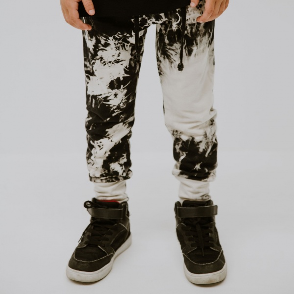 Rad tie dye trackies by Punk Baby