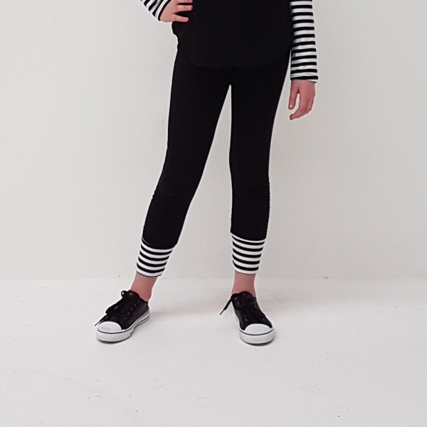 Lily Leggings are a funky twist to your average legging, funky elasticated lower legs with a large cuff for the perfect look!