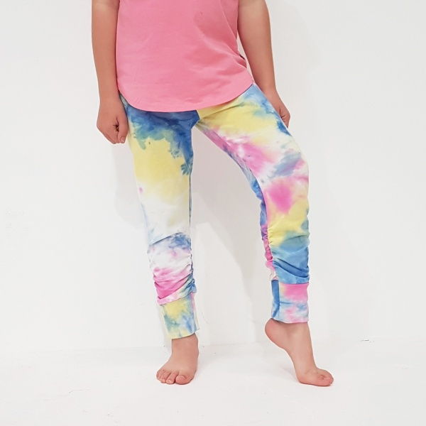 Tie Dye Lily Legging by Punk Baby