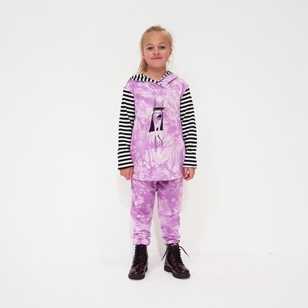 Lilac Tie Dye Tracksuit